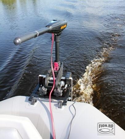 электромоторы для надувных лодок сделай сам