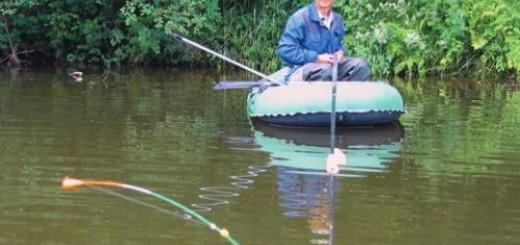 ловля карася и карпа на удочку с лодки